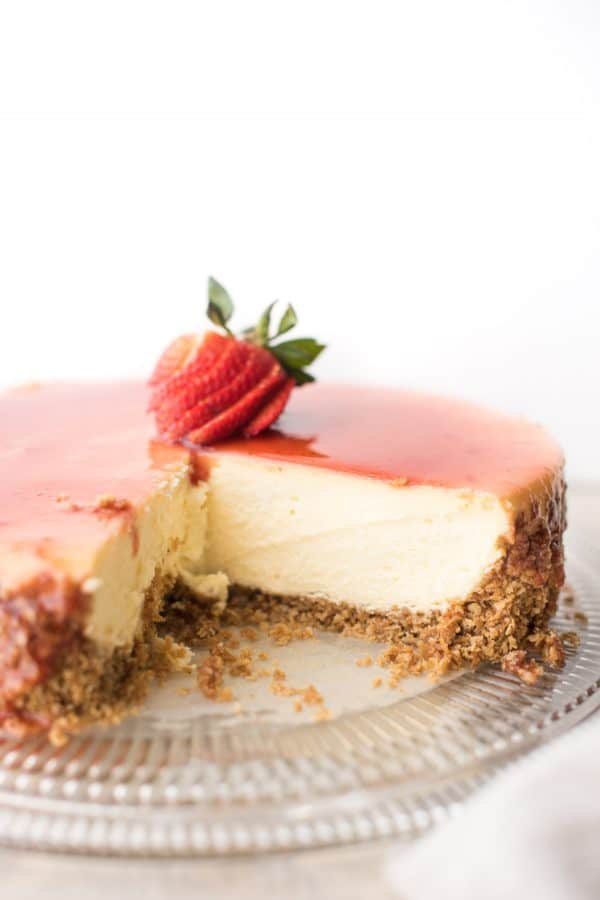 Gluten Free New York Style Cheesecake