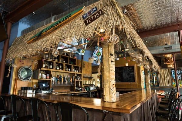 Side view of Bonefish Harry's Bar