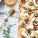 Honey Fig Goat Cheese Flatbread