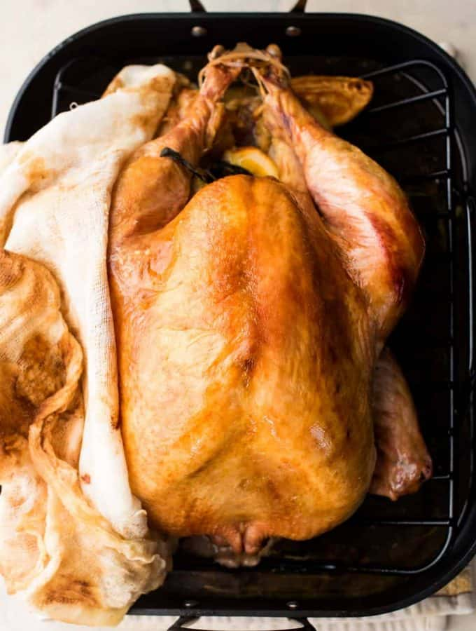 No-Baste Cheesecloth Turkey
