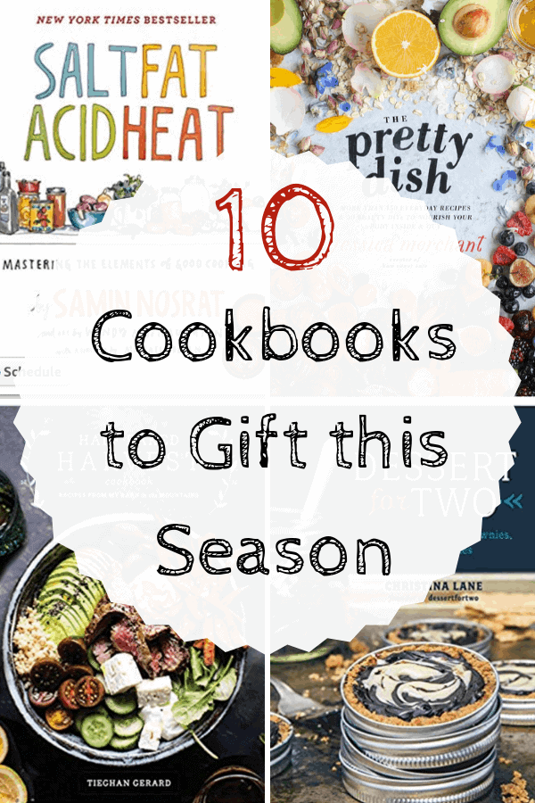 10 Cookbooks to Gift this Season
