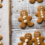 Bourbon Gingerbread Men Cookies