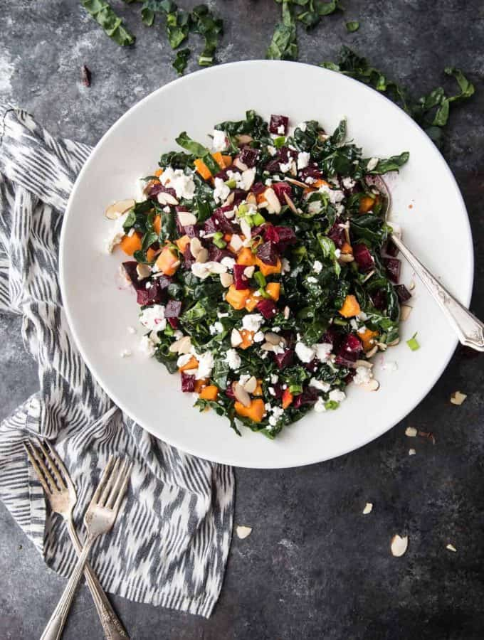 Honey Ginger Beets and Sweets Salad