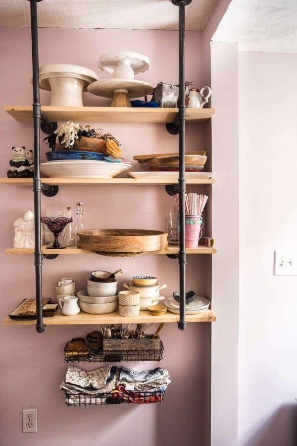shelving for photography props