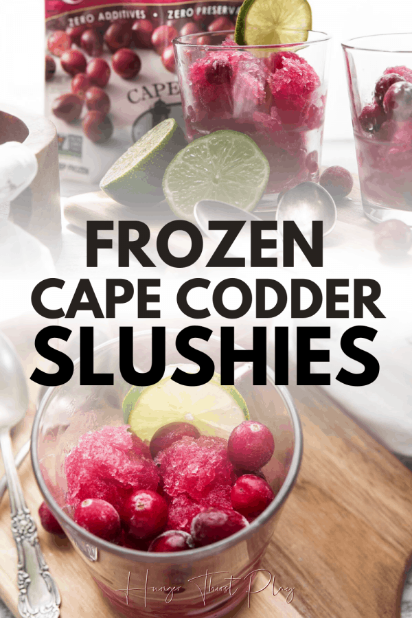 collage of photos of cape codder slushies