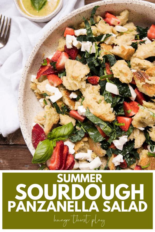 large white platter of salad