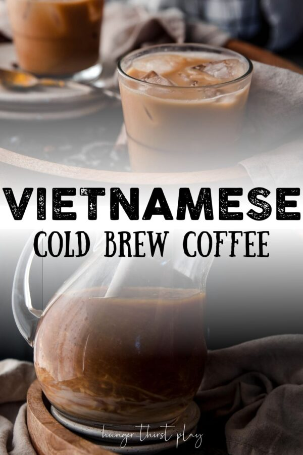 collage of vietnamese coffee photos